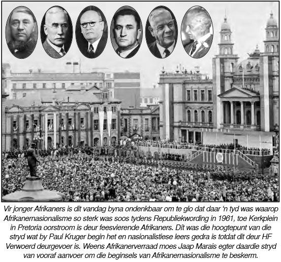 Afrikaners op Kerkplein